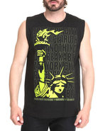 Men Liberty Stack Tank Black Medium