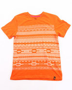 Boys Playa V-Neck Tee (8-20) Orange 8 (S)