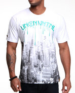 Lavie Men Uncnvntnl S/S Tee White 4X-Large