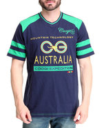 Coogi Men Expedition Tee Navy Xx-Large