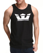 Men Icon Tank Black Large