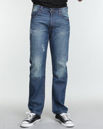 Men The Peacemaker Signature Emb Denim Jeans Dark