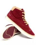 Men Napoli Mid Sneakers Maroon 9.5