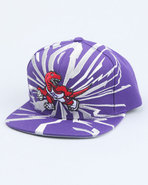 Men Toronto Raptors Nba Earthquake Snapback Cap Pu