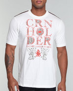 Men Ch Tee Off White Large