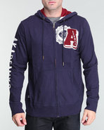 Men Berkley Lightweight Hoodie Pullover Navy Small