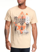 Men Miskeen Hand Tee Khaki X-Large
