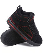 Boys Mid Sneaker (Kids) Black 2.5