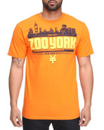 Men Zoo Dmc Tee Orange Small