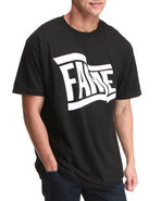 Hall Of Fame Men Wavy Tee Black Medium