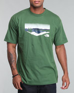 Men Over Range Tee Green Small