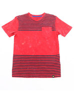 Boys Lukesh Tee (8-20) Red 14/16 (L)