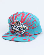 Men Detriot Pistons Nba Earthquake Snapback Cap Te