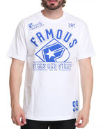 Men Flight Crew Tee White Xx-Large