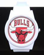 Men Chicago Bulls Pantone Nba Flud Watch White