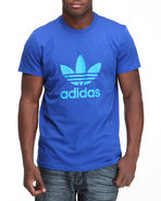 Men Trefoil Tee Blue Xx-Large