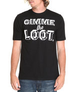 Akoo Men Gimme The Loot Tee Black Xx-Large