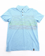 Boys Aktun Polo Blue 18/20 (Xl)