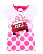 Girls I Heart Sp Tee (7-16) Pink 12/14 (L)