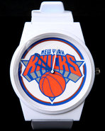 Men New York Knicks Pantone Nba Flud Watch White