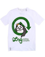 Lrg Boys The Homeboy Panda Tee (8-20) White 14/16