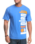 Men Cities Tee Blue Medium
