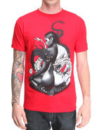 Men Yin Yang Tee Red Xx-Large