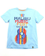 Boys Music Fest Tee (8-20) Blue 8 (S)