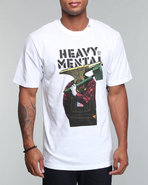 Lrg Men Heavy Mental S/S Tee White Small