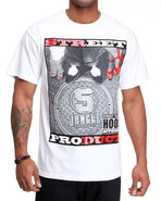 5Ive Jungle Men Street Product Tee White X-Large