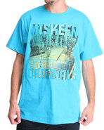 Men Photo Reel Tee Blue Medium