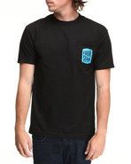 Men Hallmark Pocket Tee Black X-Large
