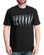 Blvck Scvle Men Feather King Tee Black Large