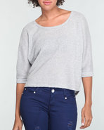 Women Lurex Top Silver X-Large