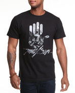 Men Miskeen Signature Hand Tee Black Xx-Large