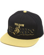Men Mascot Snapback Cap Black