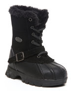 Boys Yeti Hi Winter Duck Boot Black 5 Toddler