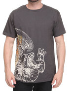 Men Dungeons Tee Charcoal Medium