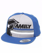 Men Illin Snapback Cap Black