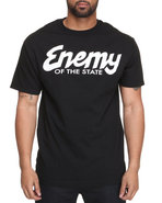 Drj Underground Men Og Enemy Tee Black Large