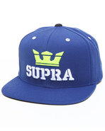 Men Above Starter Snapback Cap Blue