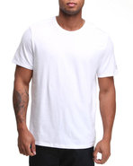 Men S/S Single Jersey Tee White Small