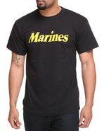 Drj Army/Navy Shop Men Marines Tee Black Small