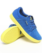 Boys Westwood Royal Blue Suede/Canvas Sneakers 5.5