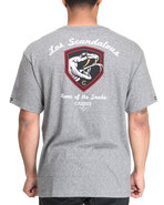 Men Los Scandalous Tee Charcoal Small