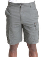 Men Ripstop Cargo Shorts Charcoal 40