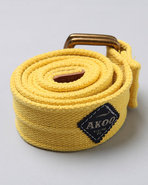 Akoo Men Shale Belt Yellow Medium