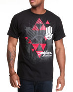 Men Miskeen Hand Tee Black Medium
