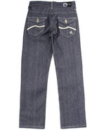 Boys Wave Jeans (8-20) Dark Wash 10
