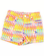 Coogi Girls Aztec Printed Shorts (4-6X) Multi 6X